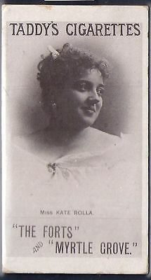 Taddy-Actresses Collotype 1897- Miss Kate Rolla
