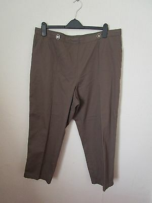 womens comfortable casual trousers size 20 short leg