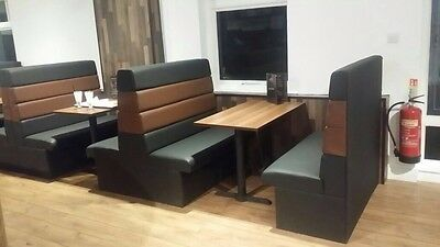 Complete Booth with table top and base - Restaurant Bar, Cafe, Home