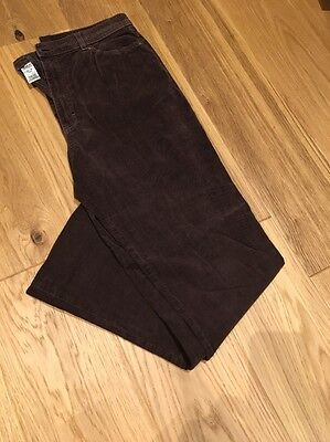 M & S Ladies Brown Trousers U.K. 16