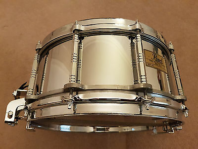 Pearl Free Floating Snare Drum - Steel Shell 14 X 6.5 - 1St Generation
