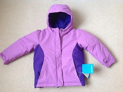new Columbia girls winter jacket, Cape Royal, 4 years
