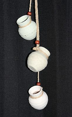 """Homemakers Idea Wall Hanging Three Water Pots Southwest 19"""" Length Pre-Owned"""
