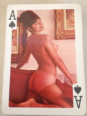 """Vtg 50s Esquire King Size Risque Nude Pin Up Pinup Playing Cards Full Deck 5""""x7"""""""