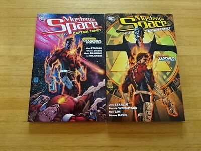 Rare Copy Of Mystery In Space Vols 1 & 2 Tpb Graphic Novels! Dc Comics!
