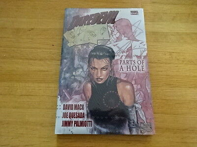 Rare Copy Of Daredevil: Parts Of A Hole Hard Cover Graphic Novel! Marvel!