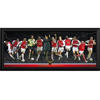 Arsenal F.C. Framed Panoramic Print Invincibles
