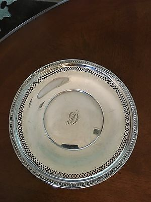 antique Sterling Silver plate dish