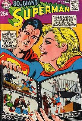 Superman (1939 series) #212 in Very Good + condition. FREE bag/board