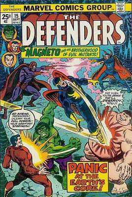 Defenders (1972 series) #15 in Very Fine - condition. FREE bag/board
