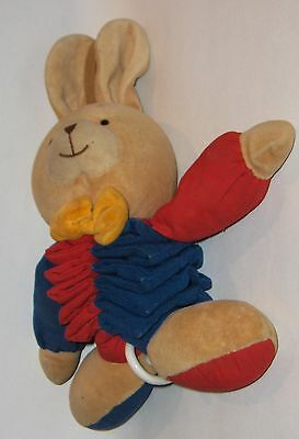 Musical Baby Toy  -- Colorful Rabbit -- plays  lullaby  -  FESTLIG on tag