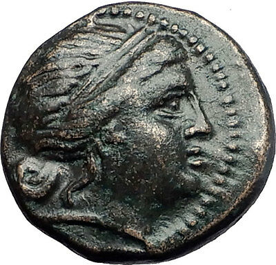 MESEMBRIA in THRACE Black Sea Area Athena Authentic Ancient Greek Coin i58038