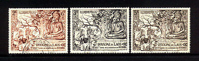 Laos #27-9 Used VF        Cat. $59.00