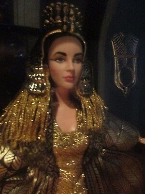 Elizabeth Taylor Cleopatra Barbie Doll First In A Series