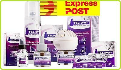 FELIWAY for Cats Refills/Spray/Diffuser/Calming/Stress Relief for Cats