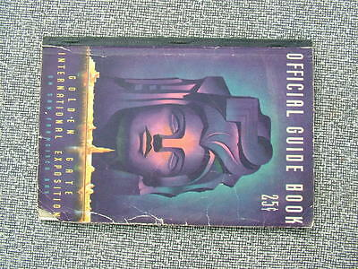 1939 Official Guide Book Golden Gate International Exposition W/fold Out Map