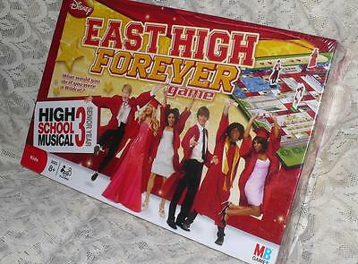 Disney/MB High School Musical 3/East High Forever Board Game New/Sealed