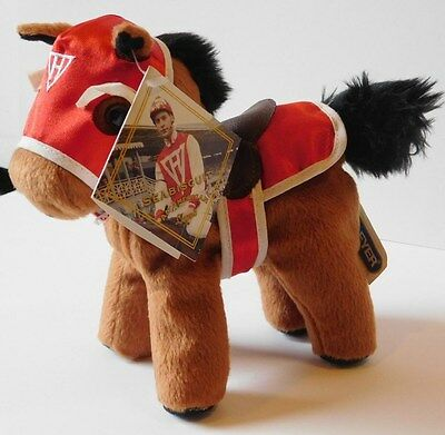 Breyer Sea Biscuit #2 Champion  Plush Horse  Racing Silks  2003  Collectible Toy