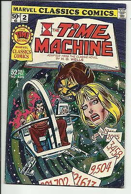 Marvel Classics Comics #2 The Time Machine by H.G. Wells - VG/FN 5.0