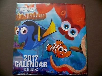 """Disney's 2017 """"FINDING DORY"""" Wall Calendar - Brand New/Sealed - Ships Next Day"""