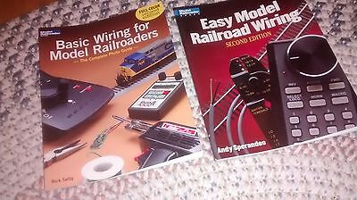 Kalmbach's, EASY MODEL RAILROAD WIRING 2nd ED, & BASIC WIRING FOR MODEL RR'S