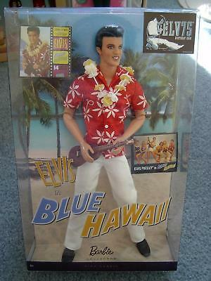 Elvis Presley in Blue Hawaii Doll Collection 2009 The King Pink Label