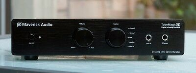 Maverick Audio D1 Digital to Analog converter DAC + Headphone Amp +  Tube PreAmp