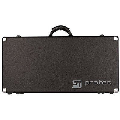 Protec Stonewood Pedalboard, Large Redesigned! New Strong Bolted Hinges