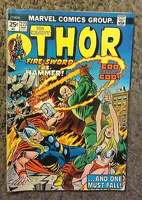 """Marvel """"the Mighty Thor"""" Issue #223 May 1974-"""
