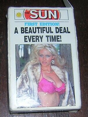 1985 First Edition Sunshine Girls[ Toronto Sun  Deck Of Playing Cards