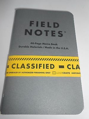 Loot Crate Field Notes 2-Pack