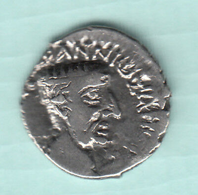 India NAHAPANA Dynasty 2000 Years Old Extremely RARE Silver Ancient Coin 28