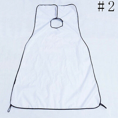 1pc Gather Whiskers Beard Apron Cloth Bib Facial Hair Trimming Catcher Cape Sink