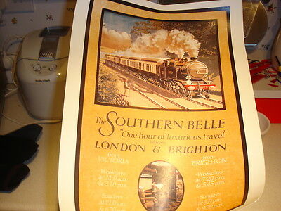 The Southern Belle - Southern Railway Train Poster