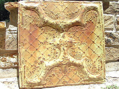 Metal Ceiling Tin Wall Tile Kitchen Backsplash 2 ft