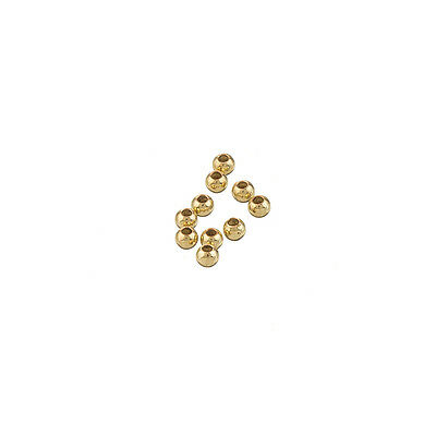 10 x Wire Coiled Gold Balls 18mm JEWELLERY CRAFT BEADS SPACERS C236//g