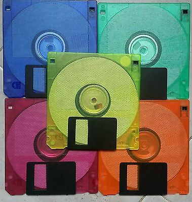 Floppy Disk Colorati