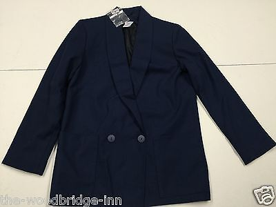 Bnwt Tammy Girl Size 146Cm Age 10-11 Yrs Navy Girls Lined Jacket (Rrp £29.99) 6Y