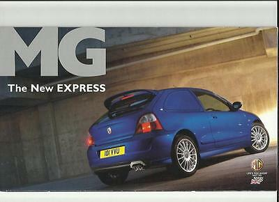 Rover Commerce And Mg 'new' Express  Sales Brochure 2004