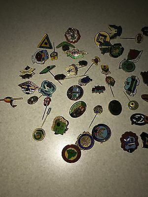 large Collection Of Bowls Badges