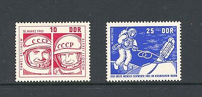 Germany E 1965 SG E 816-7 Voshkod 2  Space   MNH