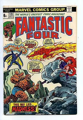 Fantastic Four #138 - Marvel BRONZE AGE 1973 VG+