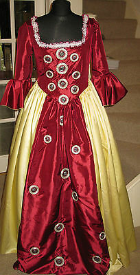 Ladies Stage costume 8-10 Princess.Courtier,PantoGodmother ,Panto  Fancy Dress