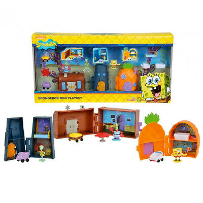 Spongebob Mini Playset Con Accessori e Personaggi Bambini Simba Toys