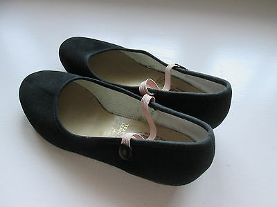 Little Girls Black Character Dance Shoes size 2