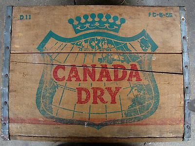 Canada Dry Wood Crate PICK UP ONLY
