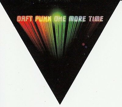Daft Punk One More Time RARE promo sticker '00