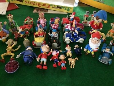 Massive JOBLOT of Vintage Noody Cars and Figures VGC - Collectable