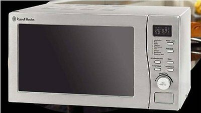 Russell Hobbs Microwave & Grill RHM2010S-H Stainless Steel Front 800W 5 Settings