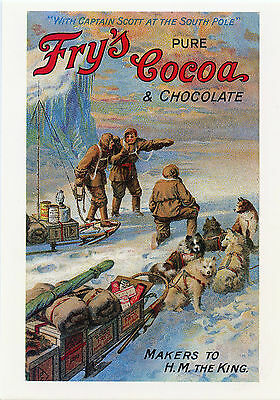 "(mum 90) ~ FRY'S PURE COCOA AND CHOCOLATE~""WITH CAPTAIN SCOTT AT THE SOUTH POLE"""